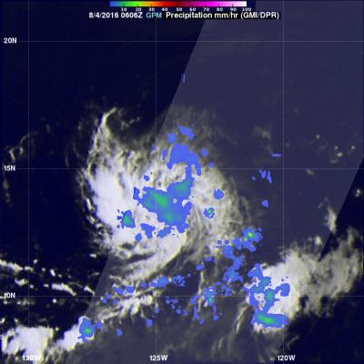 GPM Observes Tropical Storm Ivette