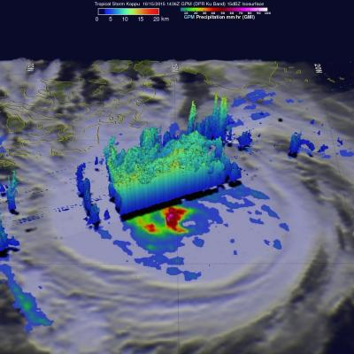 GPM Sees Tropical Storm Koppu Menacing The Philippines