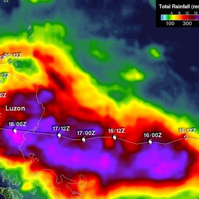 Typhoon Koppu's Deadly Philippine Rainfall