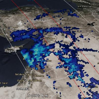 "GPM Measures Heavy Rainfall from ""The Dragon"" Cyclonic Storm System in the Middle East"