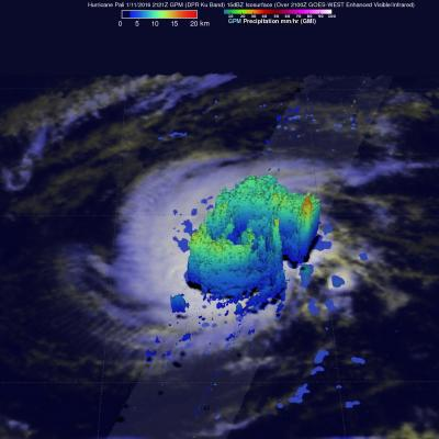 GPM Spots Hurricane Pali Forming