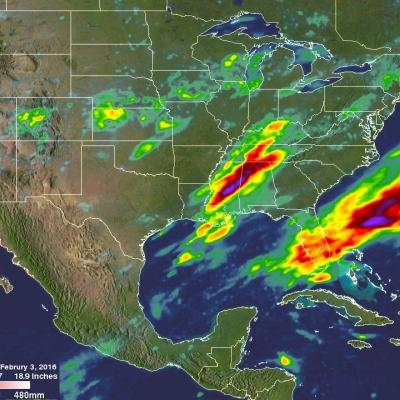 Extreme Precipitation Measured From Space