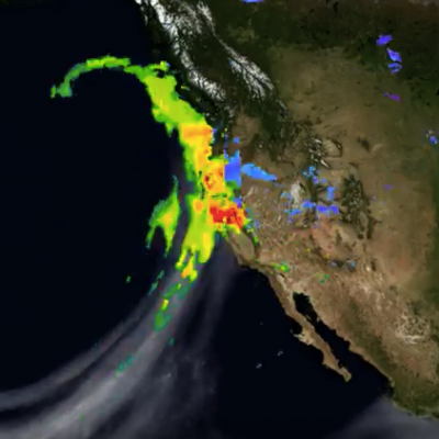 Atmospheric River Slams California