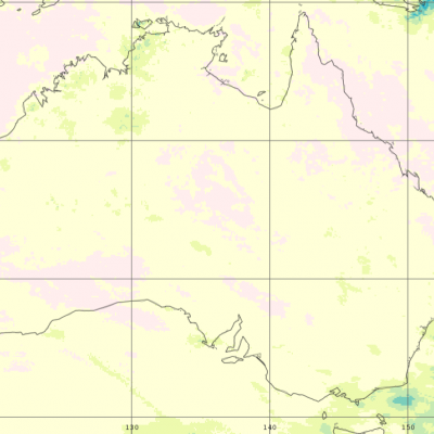 IMERG rainfall totals from Australia in November 2019