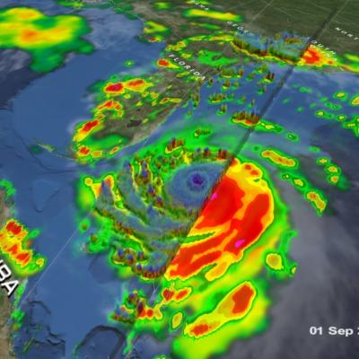 GPM Observes Hurricane Dorian Over Bahamas
