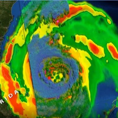 GPM observes Hurricane Dorian lashing Florida