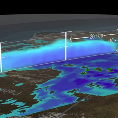 3D Views of February Snow Storms from GPM