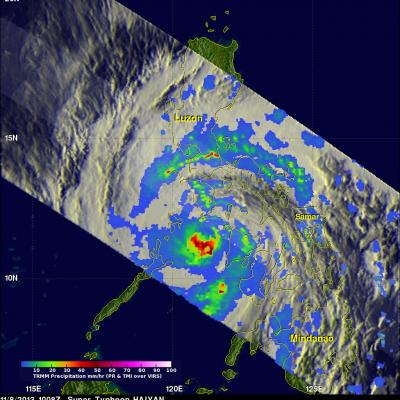 Super Typhoon Haiyan Hits the Philippines