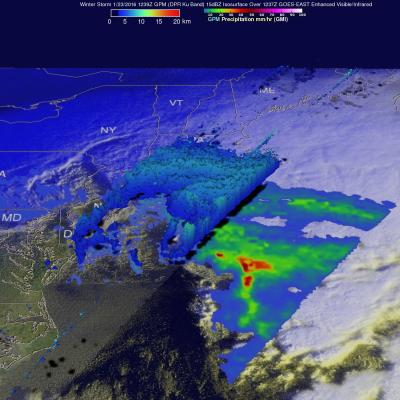 Storm Brings Heavy Precipitation to Northeast