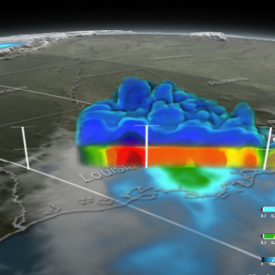 GPM Provides a Closer Look at the Louisiana Floods