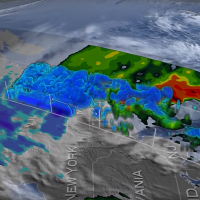 GPM Catches Nor'easter over New England