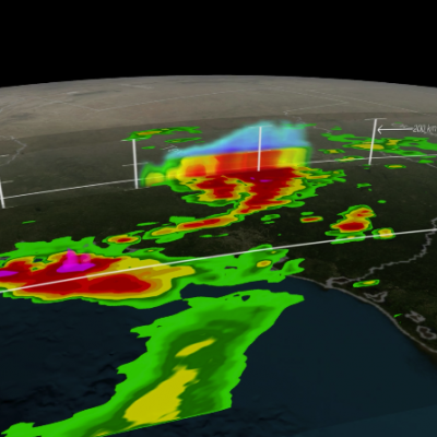 GPM Sees Tropical Storm Bill Over Texas