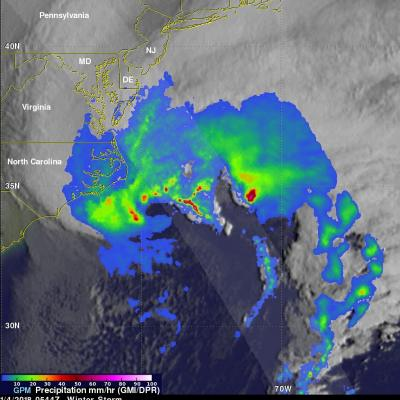 GPM Sees Powerful Winter Storm Grayson