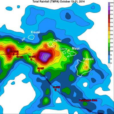 Hurricane Ana Bypasses But Soaks Hawaiian Islands
