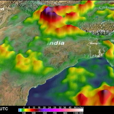 Extreme India Monsoon Rainfall Analyzed