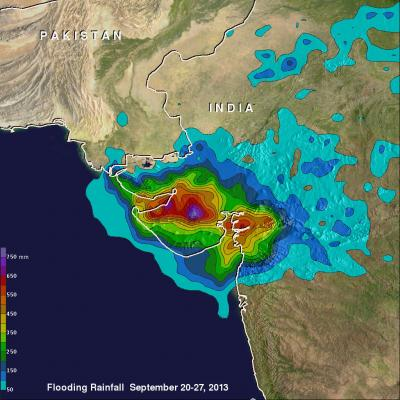 Western India's Intense Monsoon Rain
