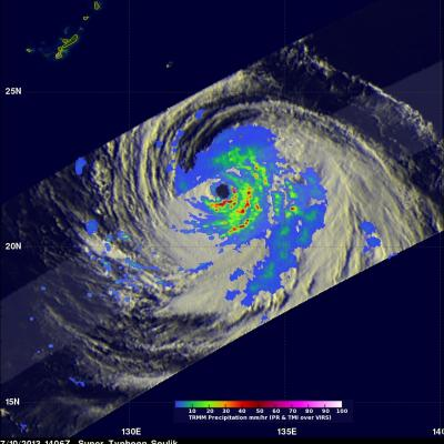 Super Typhoon Soulik Forms in the Pacific