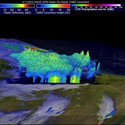 A GPM View of Tornado Spawning Thunderstorms